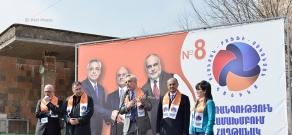 Pre-election meetings of 'Ohanyan-Raffi-Oskanyan' alliance