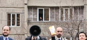 Pre-election meeting of Yelk (Exit) Alliance in Yerevan