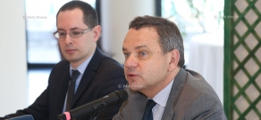 Press conference of French Ambassador to Armenia Jean-François Charpentier