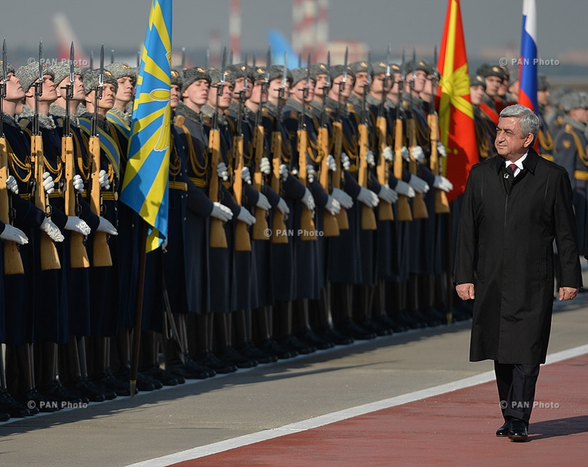 Armenian President Serzh Sargsyan's offical visit to Russia