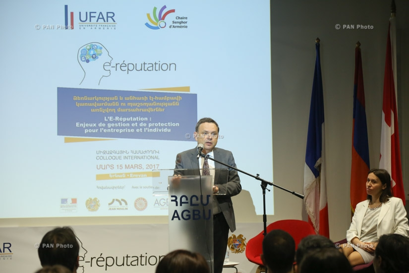 International Conference Challenges of the E-reputation Management and Protection of Enterprises and Individuals