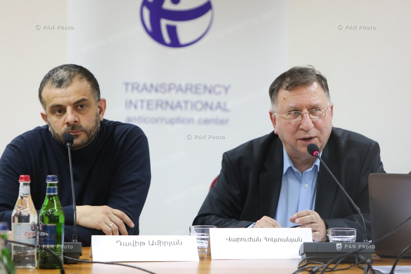 Transparency International unveils results of monitoring conducted ahead of Armenian parliamentary elections