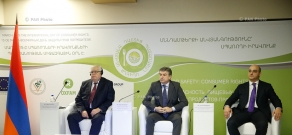 """Armenian Prime Minister Karen Karapetyan attends opening of """"Food Safety: Consumer Rights"""" conference"""