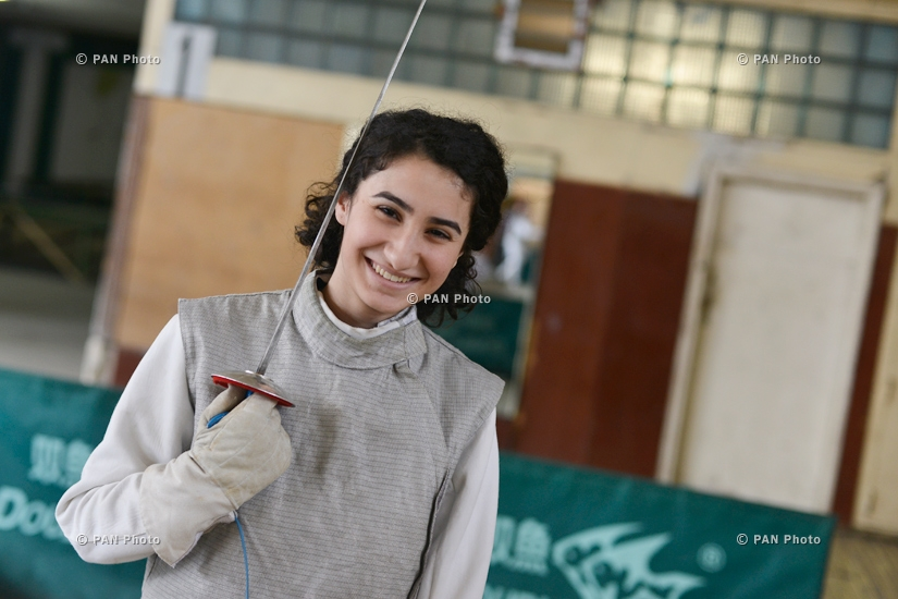 Youth Fencing Championship of Armenia: Final bouts