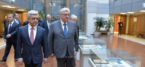 Armenian President Serzh Sargsyan visits Moscow State Institute of International Relations