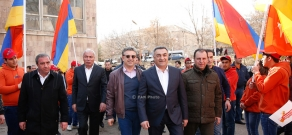 RPA campaign meetings in Vayots Dzor Province