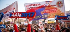 RPA campaign meetings in Armavir Province