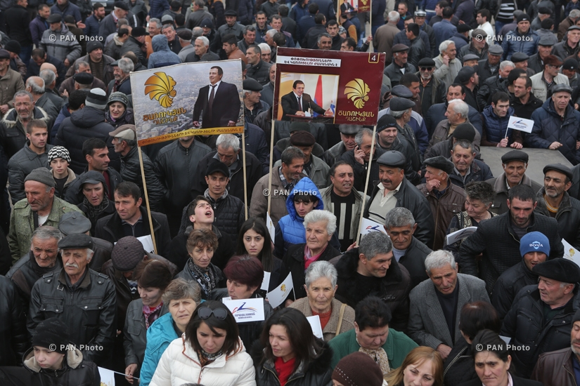 PPA campaign meetings in cities Artik and Gyumri
