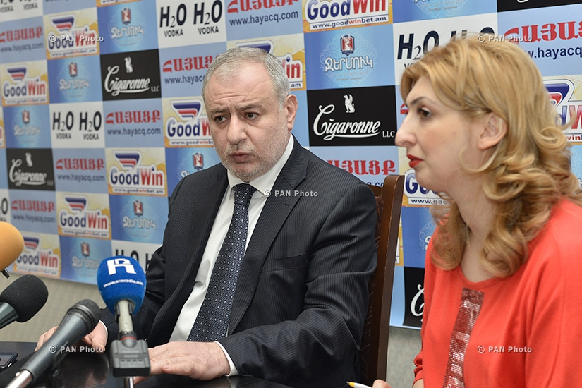 Press conference of ANM Board Chairman Ararat Zurabyan