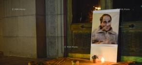 «Հաց բերող» Արթուր Սարգսյանի հիշատակին նվիրված մոմավառություն