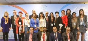Форум WCFDavos/Yerevan по теме From Crisis to Development - Powered by Communication («От кризиса к развитию–силой коммуникации»). День 2