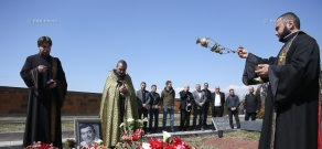 Commemoration ceremony dedicated to Armenian tenor Gegham Grigoryan