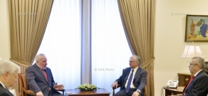 Armenian Minister of Foreign Affairs Edward Nalbandian receives OSCE Minsk Group Co-Chairs