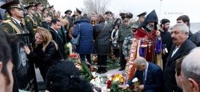 Requiem service at Yerevan military Pantheon for Armenian soldiers fallen during Karabakh-Azerbaijan 4-day war