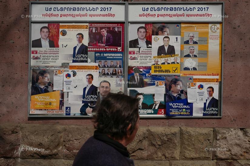 Armenia Parliamentary Elections 2017