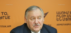 Press conference of Deputy of the State Duma of Russia, Director of Institute of CIS Countries Konstantin Zatulin