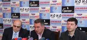 Press conference of ORO Alliance members Armen Martirosyan and Hovsep Khurshudyan