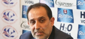 Press conference by National Consent party Leader Aram Harutyunyan