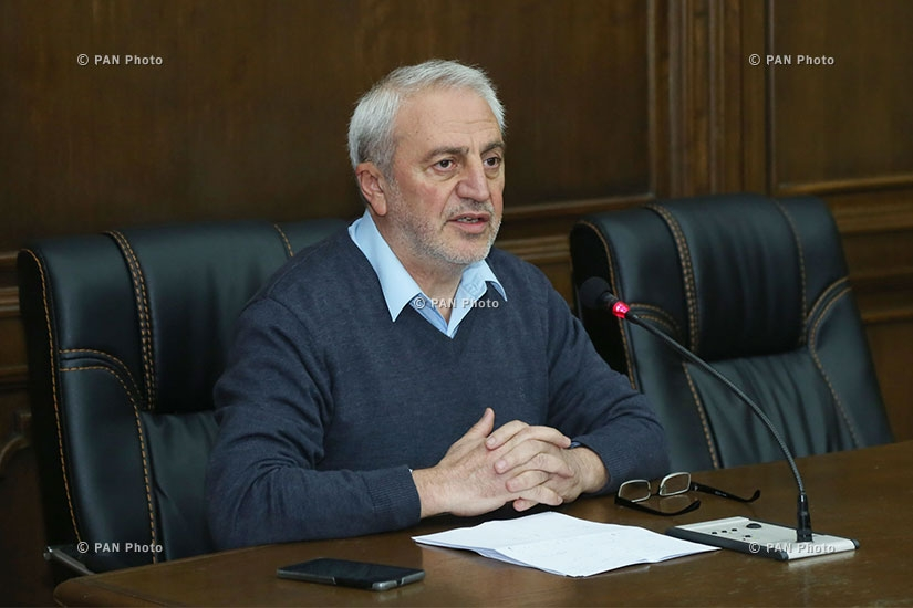 Briefing: Secretary of ANC parliamentary faction Aram Manukyan