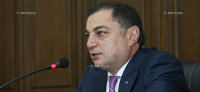 Briefing: Head of RPA parliamentary faction Vahram Baghdasaryan