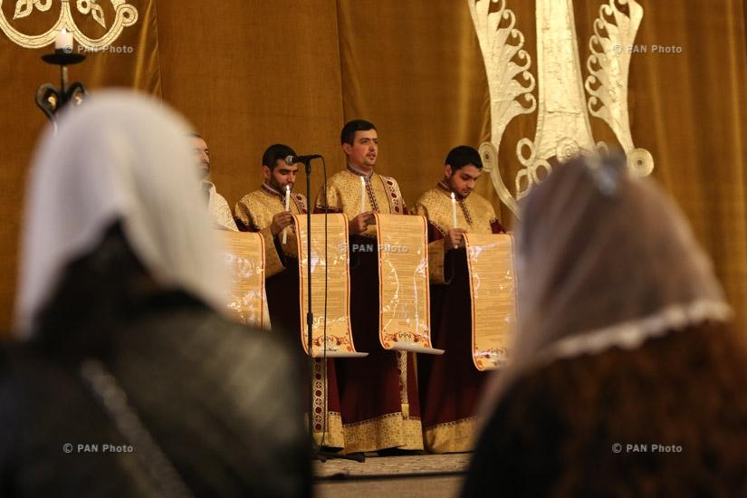 Armenian Church marks Easter Eve
