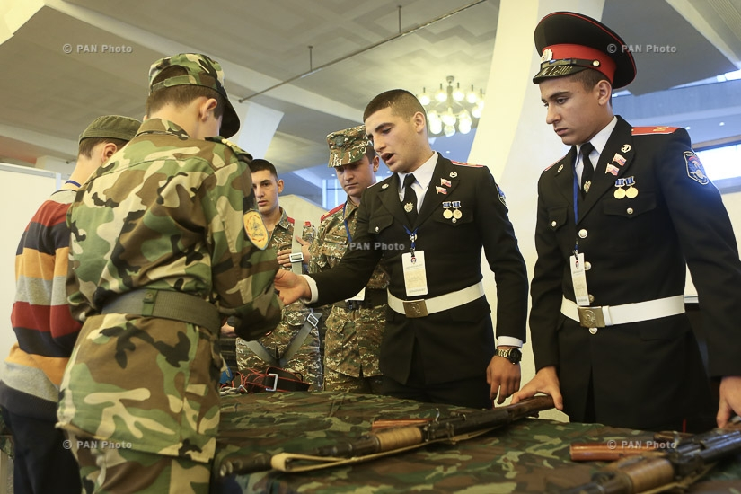 Military exhibition within the frames of Nation-Army 2017 conference