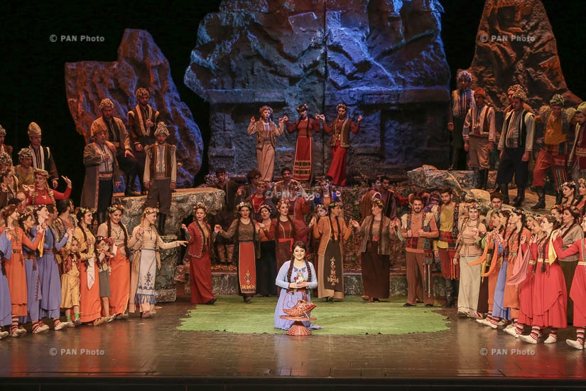 Armen Tigranian's Anoush opera performance dedicated to Saro Avag Petrosyan's 105th anniversary