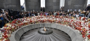 102nd anniversary of Armenian Genocide