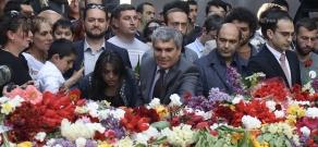 Հայոց ցեղասպանության 102-րդ տարելիցը: ԵԼՔ դաշինքի անդամների այցը Ծիծեռնակաբերդ