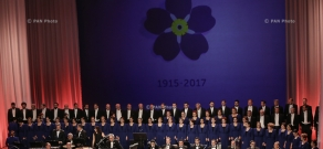 Concert of All-Armenian Orchestra dedicated to the 102nd anniversary of Armenian Genocide