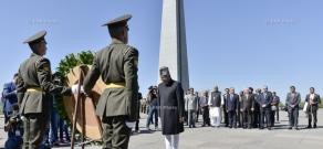 Հնդկաստանի փոխնախագահ Մոհամմադ Համիդ Անսարին այցելեց Ծիծեռնակաբերդ