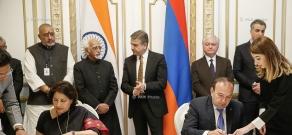 Վարչապետ Կարեն Կարապետյանն ընդունել է Հնդկաստանի փոխնախագահ Մոհամմադ Համիդ  Անսարիի գլխավորած պատվիրակությանը