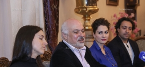 Press conference on the first International Yerevan Opera Fest