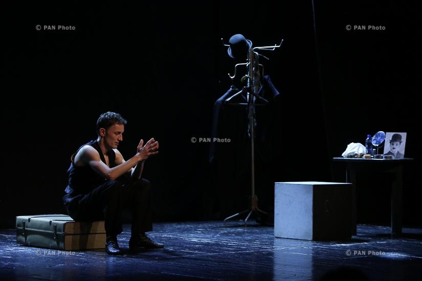 Performance 'Being Charlie Chaplin' by Mateusz Deskiewicz (Poland)