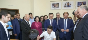 Opening of chess club named after two-time World Champion Tigran Petrosian