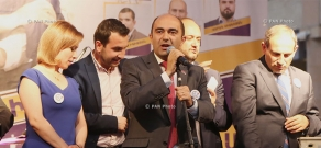 Concluding meeting of YELQ bloc ahead of Elections to Yerevan City Council