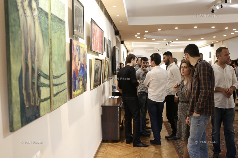 Present - Exhibition of Armenian contemporary young artists dedicated to the International Day of Families