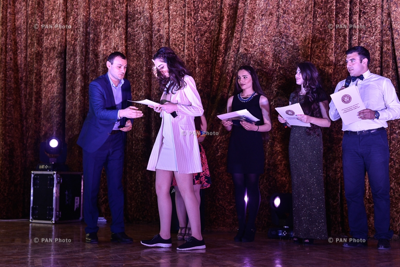 'Student -2017' Annual award -gala concert, dedicated to the Day of Youth and Students