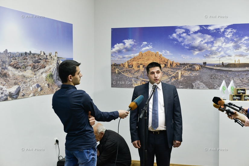 National gallery hosts exhibition of 360° images of cultural monuments of Western Armenia and the Armenian Kingdom of Cilicia