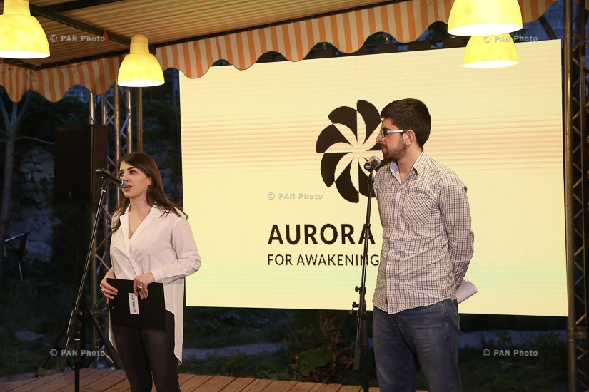 "Aurora Humanitarian Initiative opened the photo exhibition ""Capturing Humanity"" at Dalan Art Gallery in Yerevan"