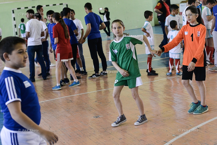 Sport competitions between children with and without disabilities