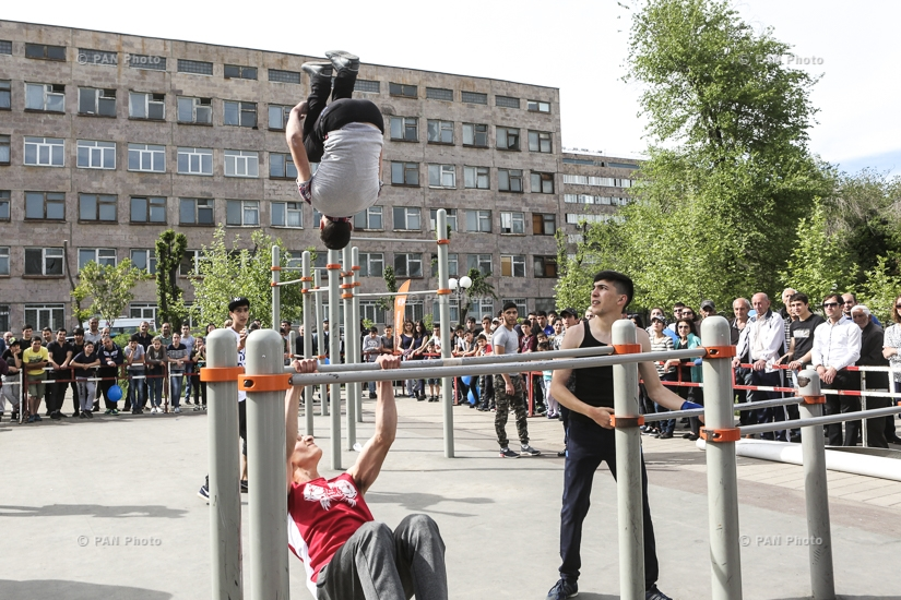 Street Workout Challenge annual event