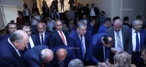 Խորհրդարանում մեկնարկել է ԱԺ նախագահի ընտրության քվեարկությունը