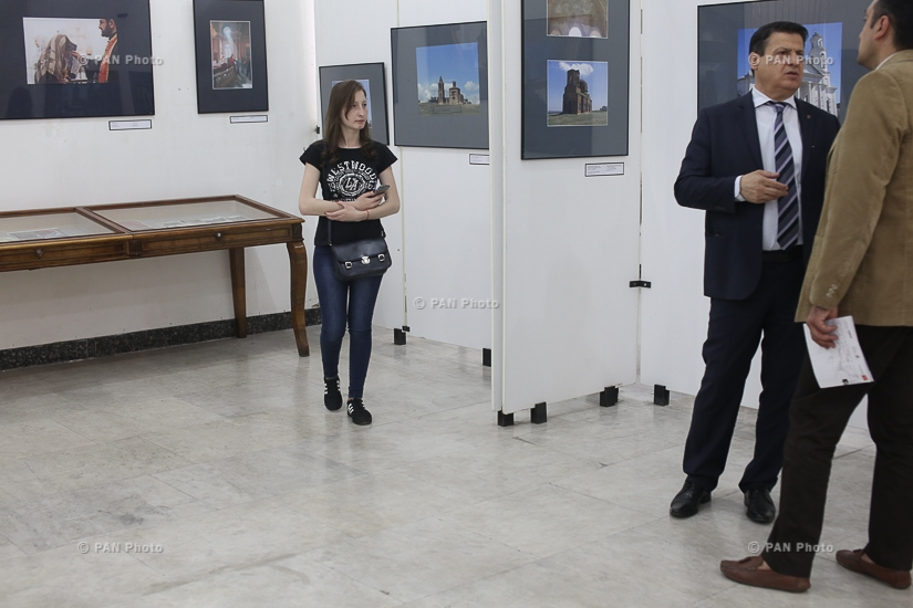 Opening of exhibition  Armenian Churches in Russia