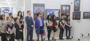 Opening of exhibition