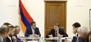 Armenian Prime Minister Karen Karapetyan's working visit to the Ministry of Culture