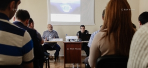 Presentation of the book  by political scientist Hrant Mikaelyan