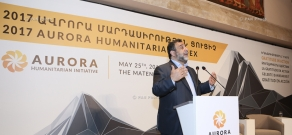 Discussion and presentation of the results of 'Aurora Prize for Awakening Humanity'