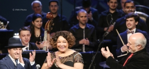 "Concert ""Ella Fitzgerald 100"" in Yerevan, dedicated to 100th anniversary of the Queen of Jazz"