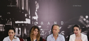 Press conference, dedicated to the concert of Avishai Cohen Trio in Yerevan